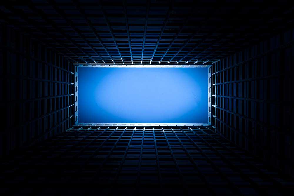 Vue d'un immeuble en perspective