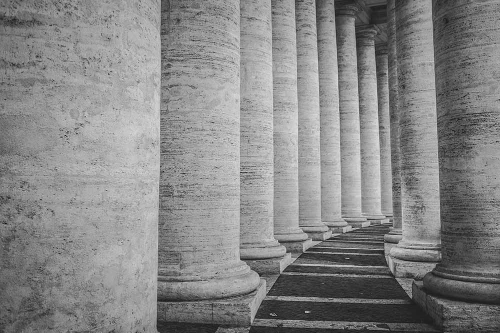 couloir de colonne