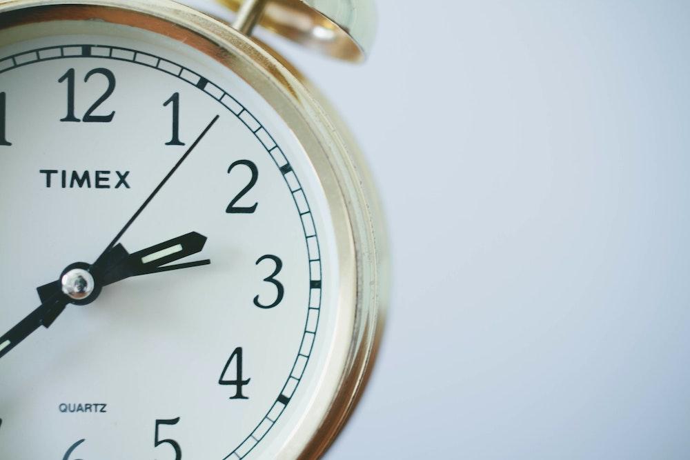 Gros plan sur une montre